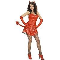 WIDMANN Widman - Disfraz de Halloween Novia de Lucifer para mujer, talla 36 (76921