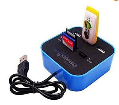 Superit Usb 3port Hub And Memory Card Reader Combo Box