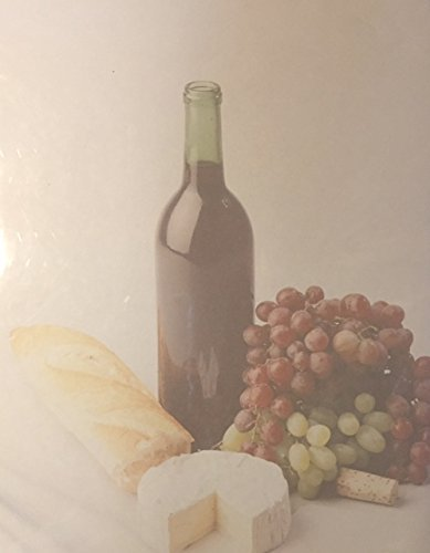 Wein Flasche Drucker kompatibel Papier bedruckt-21,6x 27,9cm-100Blatt (Stationären Drucker Papier)