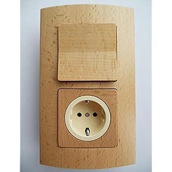 holzschalter lichtschalter steckdosen progr sirius buche. Black Bedroom Furniture Sets. Home Design Ideas