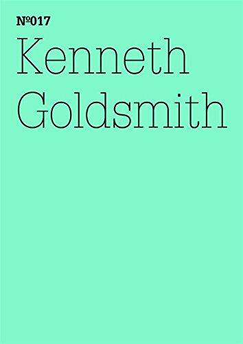 Kenneth Goldsmith: Brief an Bettina Funcke (dOCUMENTA (13): 100 Notes - 100 Thoughts, 100 Notizen - 100 Gedanken # 017) (dOCUMENTA (13): 100 Notizen - 100 Gedanken 17) (German Edition) por Kenneth Goldsmith