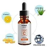 Oshide 30mlVC Vitamina C Suero Esencia Antiarrugas Hidratante Esencia de Ácido Hialurónico