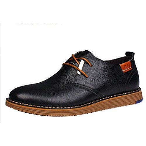 Hommes Casual Fashion Business Chaussures En Cuir Souple A