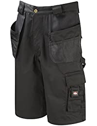 Lee Cooper Workwear Holster Pocket Short, 38W, schwarz, LCSHO807