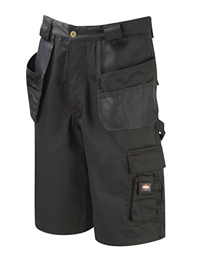 Lee Cooper Workwear, LCSHO807, Holster Pocket Corto, 32 W, nero
