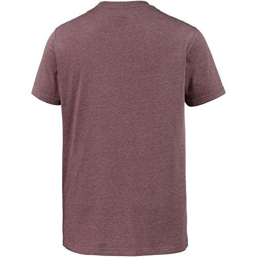 Cleptomanicx Herren T-Shirt Heather Tawny Port Tawny Port