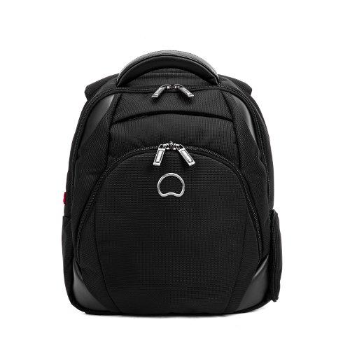 delsey-quarterback-rucksack-mit-laptopfach-39-cm-schwarz