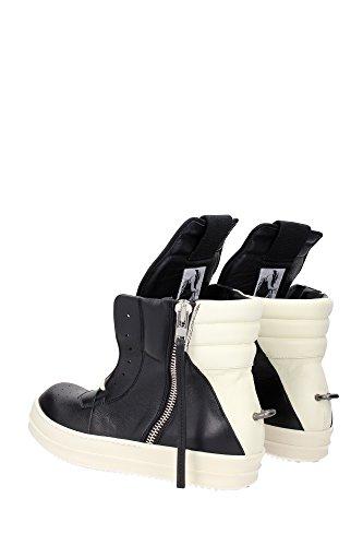 RU16S3882LPO911 Rick Owens Sneakers Homme Cuir Noir Noir