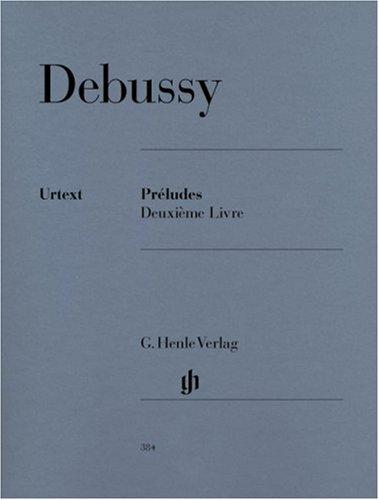Préludes Volume 2 - Piano par Debussy