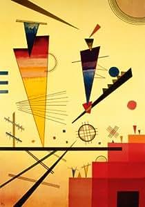 Reproduction d'art 'Structure joyeuse', de Wassily Kandinsky, Taille: 70 x 100 cm