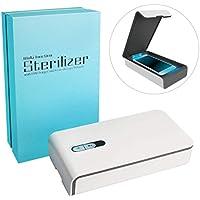 MEANS Sanitizador portátil ultravioleta del teléfono inteligente con el cargador del USB - Desinfección ligera multi-uso de la luz ultravioleta para el ...