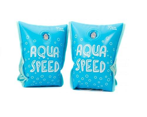 AQUA-SPEED Schwimmflügel Mit Innenfutter Schwimmhilfe Badespaß Für Babys Und Kinder Premium Armbands