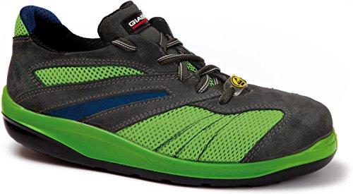 Giasco  VERVE, Chaussures de sécurité pour homme Vert - Grün/Schwarz