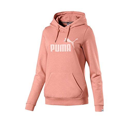 Puma Damen Ess No.1 Hoody Tr W Pullover Peach Beige-Peach Beige