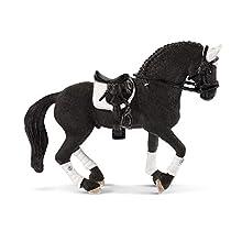 SCHLEICH Horse Club Figurine Etalon Frison concours équestre, 42457, Multicolore