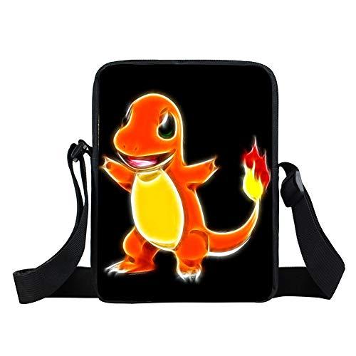n Mini Umhängetasche Cartoon Charakter Pikachu Täglichen Beutel Jungen Mädchen Schultaschen Kinder Schultasche Geschenk Taschen Für Kinder ()