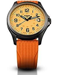 Traser P67Officer Pro Gun Metal Naranja, Rubber Band (Caucho Natural), color naranja