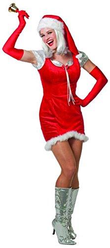 Weihnachtsfrau Nikoläusin Santa Girl Weihnachten Jinge Bells (44)