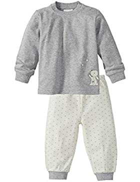 Bornino Schlafanzug 2-TLG. Set/Basics Baby/Langarmshirt / Hose / 100% Baumwolle/Unisex