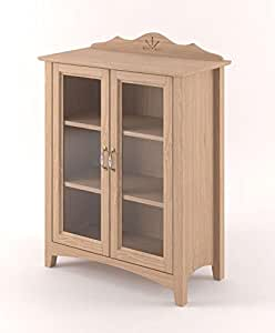 vitrine en verre et ch ne bricolage. Black Bedroom Furniture Sets. Home Design Ideas