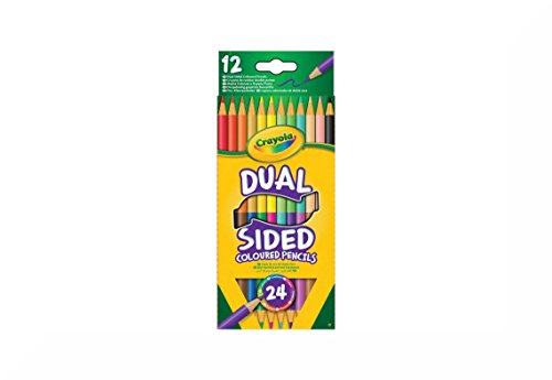 Crayola 12Dual Sided Bleistifte Aufhängen Packung & inspirierende Magnet