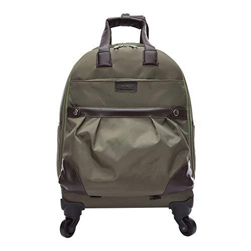 CYXYX Laptop-Rucksack, Trolley-Rucksack School Bookbag Für College-Reiserucksack Für 15,6-Zoll-Laptop Und Notebook,Green