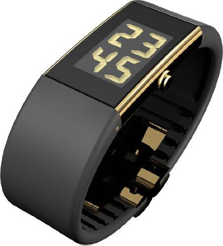 Rosendahl 43125 - Reloj de mujer de cuarzo, correa de goma color negro