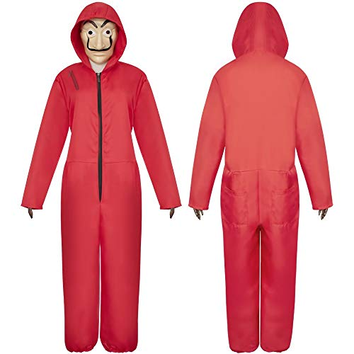 Qiujiam Adult Kids Red-Assassin 2019 Halloween Easter Costume Jumpsuit 3D Print Cosplay Costume ()