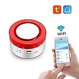 aixi-SHS Smart Wi-Fi 433Mhz Strobe sirena allarme di sicurezza domestica-temporizzato braccio/Home arm/disarmare regolare tempo allarmante-TuyaSmart/Smart Life controllo APP