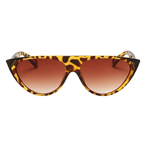 Homyl Sonnenbrille - Leopard Farbverlauf Objektiv