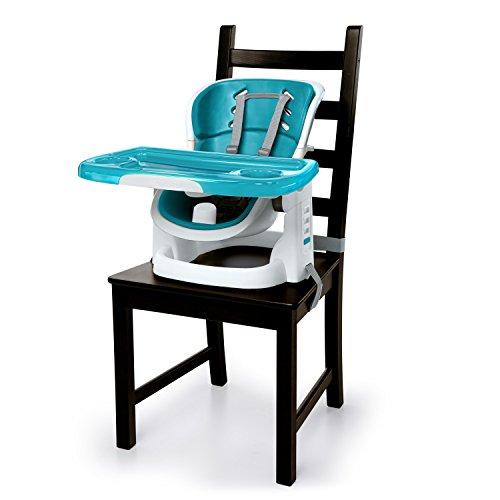 Ingenuity, Sitzerhöhung für Babys und Kleinkinder, Pfauenblau
