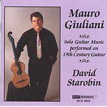 Oeuvres Pour Guitare Solo
