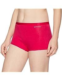 Fruit of the Loom Women's Plain Cotton Boy Shorts