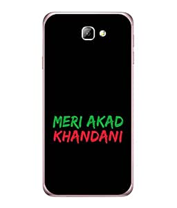 Samsung On nXt Back Cover Meri Akad Khandani Design From FUSON
