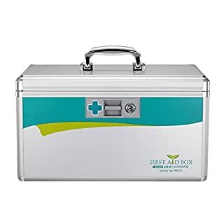 AZDENT Medicine Container Emergency Medicine Cabinet for Home Office, Home First Aid Box (#1)