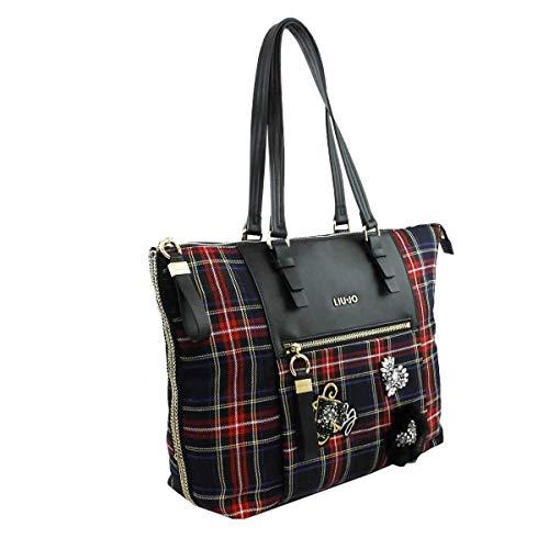 bd511a5b77 ... regalo di Natale, in particolare Liu Jo Borsa Shopping Brenta Tartan è  perfetta per una donna dinamica e sempre in movimento, che ama gli  accessori ...