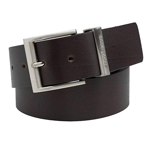 HUGO BOSS Lederguertel BUD black B50126900G 110 cm