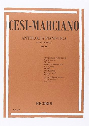 ANTOLOGIA PIANISTICA PER LA GIOVENTU - FASC. VII
