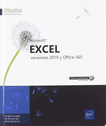 LIbro Excel 2019 y Excel 365