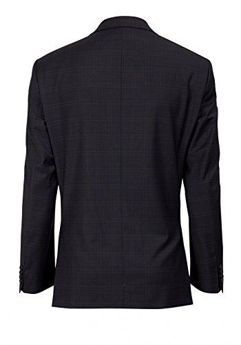 Michaelax-Fashion-Trade - Blazer - À Carreaux - Manches Longues - Homme Dunkelblau (61)