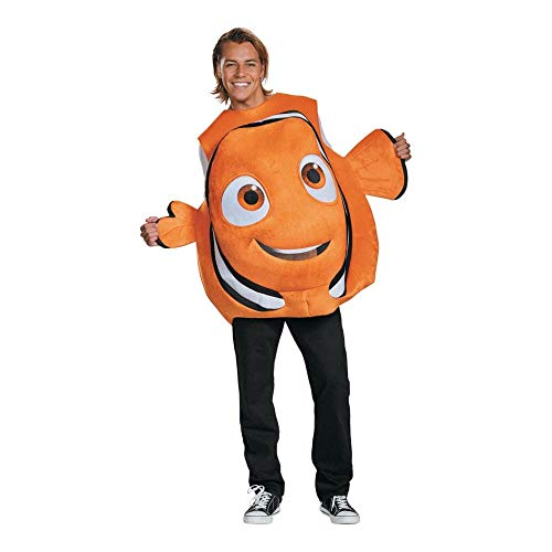 Disney's Finding Dory Nemo Adult Fish Costume One (Life Aquatic Kostüm)