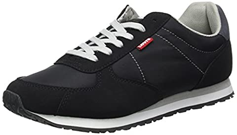 Black Eagle - Levi's Eagle Running, Baskets Hommes, Noir (Black),
