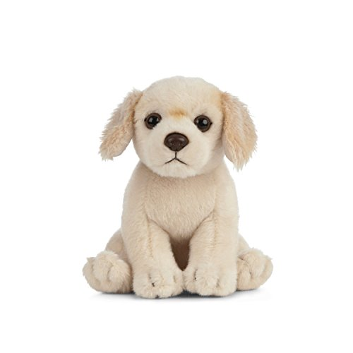 Living Nature Soft Toy - Stofftier Golden Retriever Welpe (16cm) -
