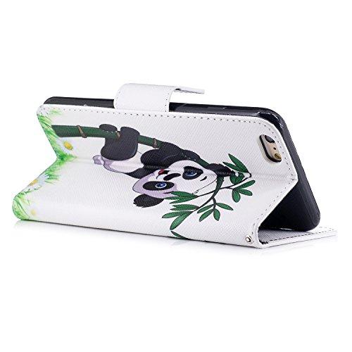 Apple iPhone 6 Plus/6S Plus 5.5 hülle, Voguecase Kunstleder Tasche PU Schutzhülle Tasche Leder Brieftasche Hülle Case Cover (Grüner Teppich 03) + Gratis Universal Eingabestift Katzenbär 07
