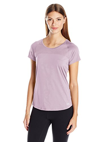 Under Armour Fly By T-Shirt Manches Courtes Femme Fresh Orchid