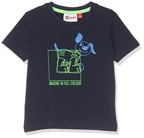 Lego Wear Baby-Jungen Duplo Boy Terrence 325-T-SHIRT T-Shirt, Blau (Dark Navy 590), Herstellergröße: 98