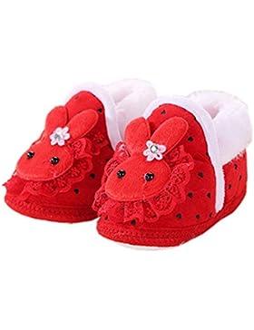 Botas de bebé unisex suaves calientes Zapatos recién nacidos Zapatos de bebé para caminar Gran regalo para bebé, F
