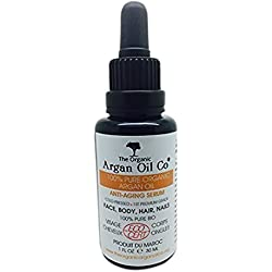 Pure Argan Oil 30ml - 100% Cold Pressed Organic ECOCERT Moroccan Oil Special Exclusive Amazon Launch Price!