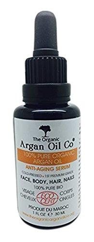 Pure Argan Oil 30ml - 100% Cold Pressed Organic ECOCERT Moroccan Oil Special Exclusive Amazon Launch Price!