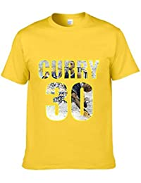 JJZHY Camiseta de Baloncesto Stephen Curry de Manga Corta de Baloncesto Superstar de la NBA Camiseta